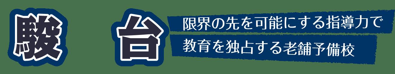 駿台 国内トップクラスの合格実績を誇る超大手予備校
