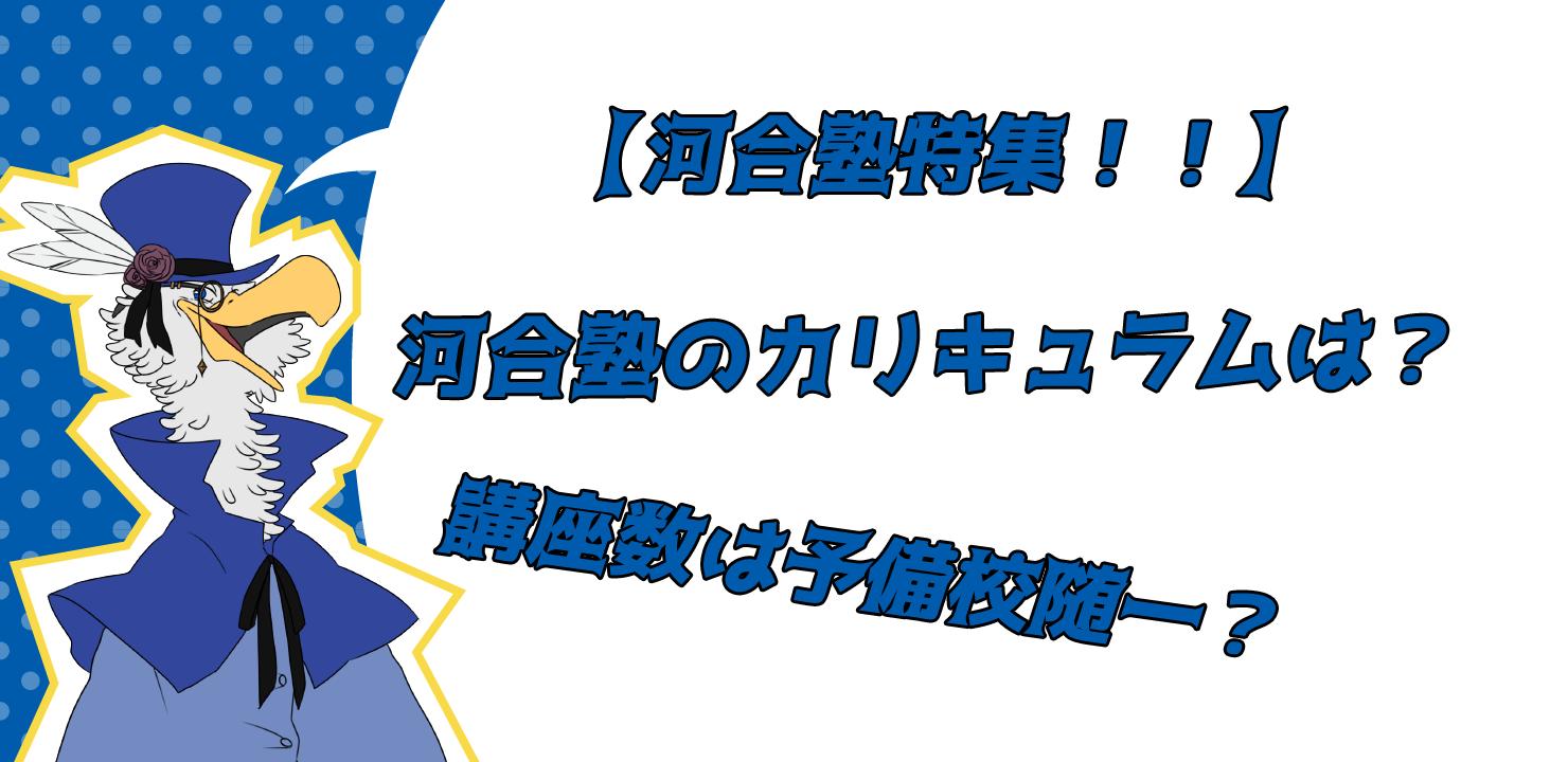 河合塾・イラスト・コース、カリキュラム
